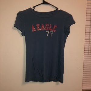 AMERICAN EAGLE Short Sleeves Shirt